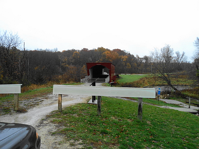 Roseman Covered Bridge.